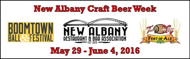 new albany craft beer week